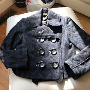 Bruuns Bazaar double breasted blazer, 40,(6-8)